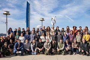 Interns at Academic Internship Orientation