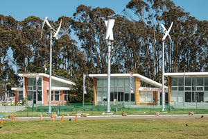 Crissy Field Center Wind Turbines