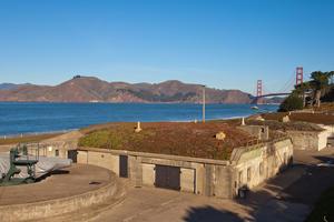 Battery Chamberlin at Baker Beach