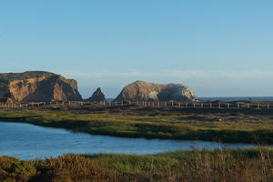 Rodeo Beach, Rodeo Lagoon