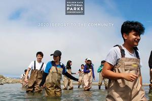 Annual Report 2020 cover.