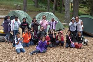 Camping at the Presidio