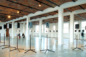 The Forty Part Motet—an immersive sound installation by Canadian artist Janet Cardiff