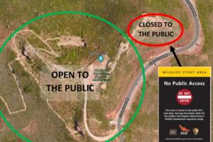 Portion of Hawk Hill closed for 2020 Hawkwatch Program