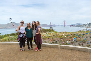 Eagle's Point, Golden Gate Bridge, Lands End