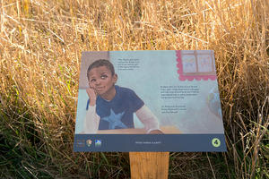 "Carmen Bogan's ""Where's Rodney?"" StoryWalk at the Marin Headlands"