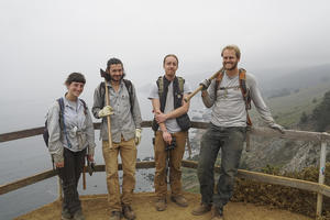 NPS Redwood Creek Vegetation Crew at Muir Beach overlook.