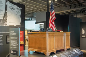 Information about the Japanese internment at the Presidio