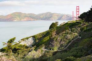 Batteries to Bluffs Trail, Golden Gate Bridge