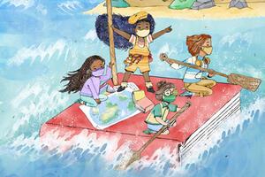Summer Stride 2021 artwork