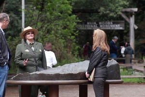 Rep. Huffman at Muir Woods National Monument
