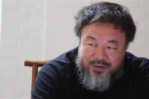 Artist Ai Weiwei, photo by the FOR-SITE Foundation