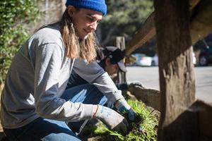 Muir Woods volunteer