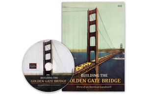 Building the Golden Gate Bridge DVD with case