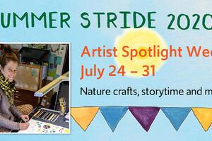 Alison Farrell for Summer Stride 2020 artist spotlight week