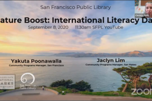 Nature Boost: International Literacy Day with Yakuta Poonawalla and Jaclyn Lim