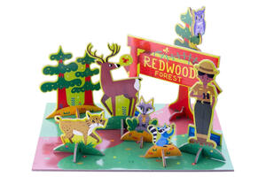 Pop out play set