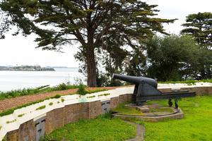 Gun at Black Point Battery in Fort Mason