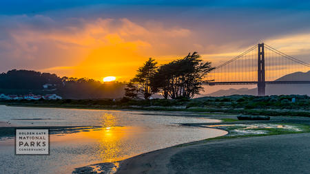 Crissy Field sunset