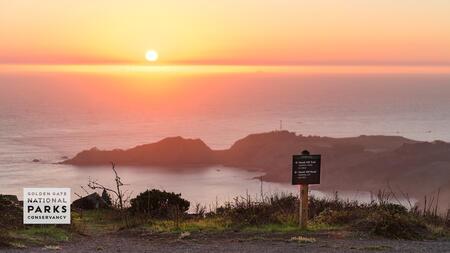 Sunset at Marin Headlands/Hawk Hill