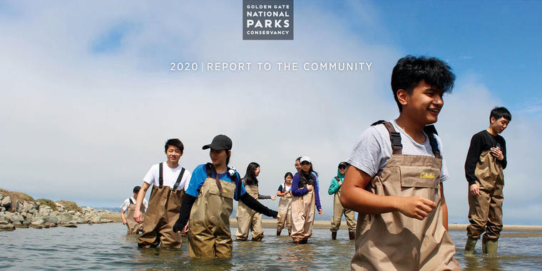 Annual Report 2020 cover.