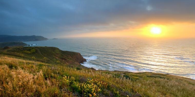 Sunset at Mori Point