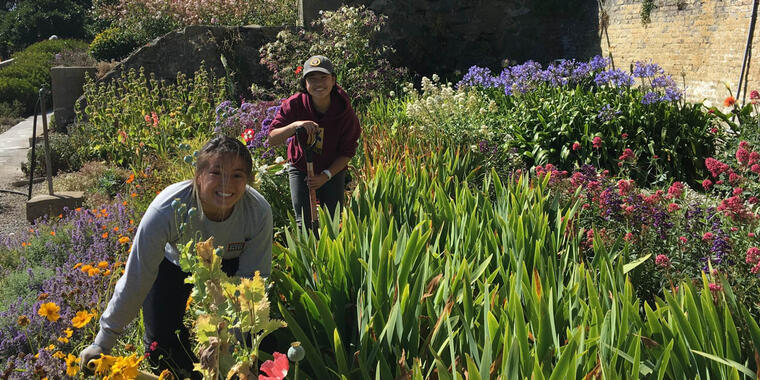 Alcatraz Historic Gardens Volunteers