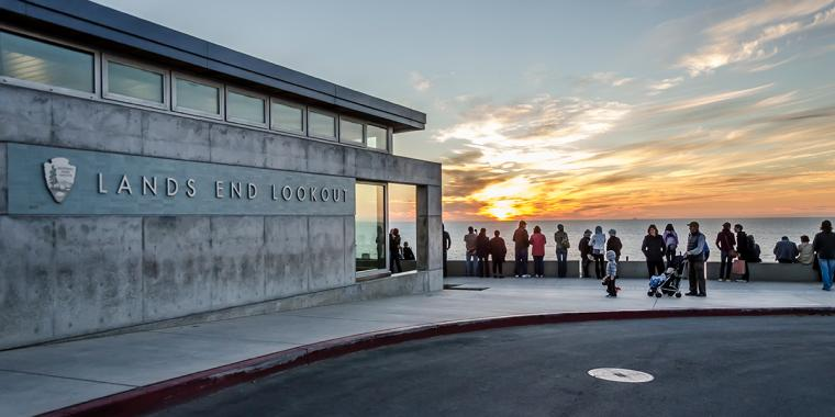 The Lands End Lookout is a gathering place for the thousands of visitors and locals that flock to this site each year