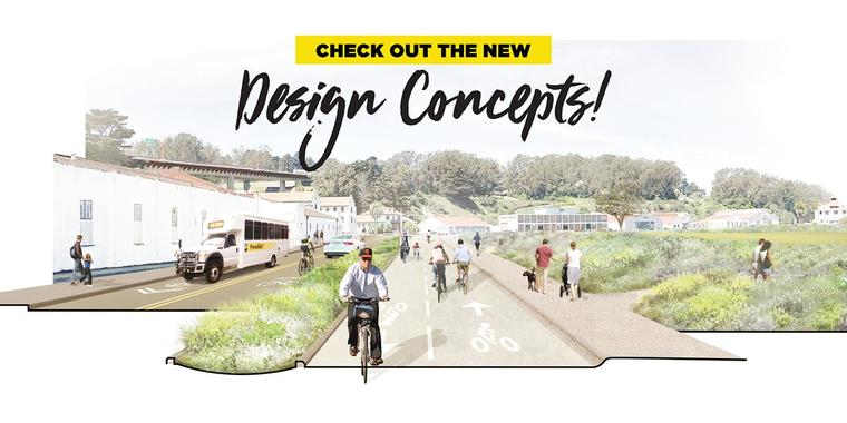 Design concept rendering from Crissy Field Next project.