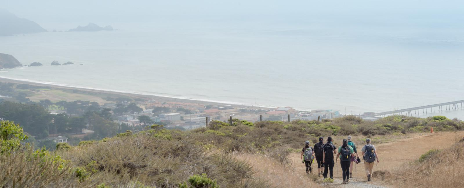 Views from Milagra Ridge