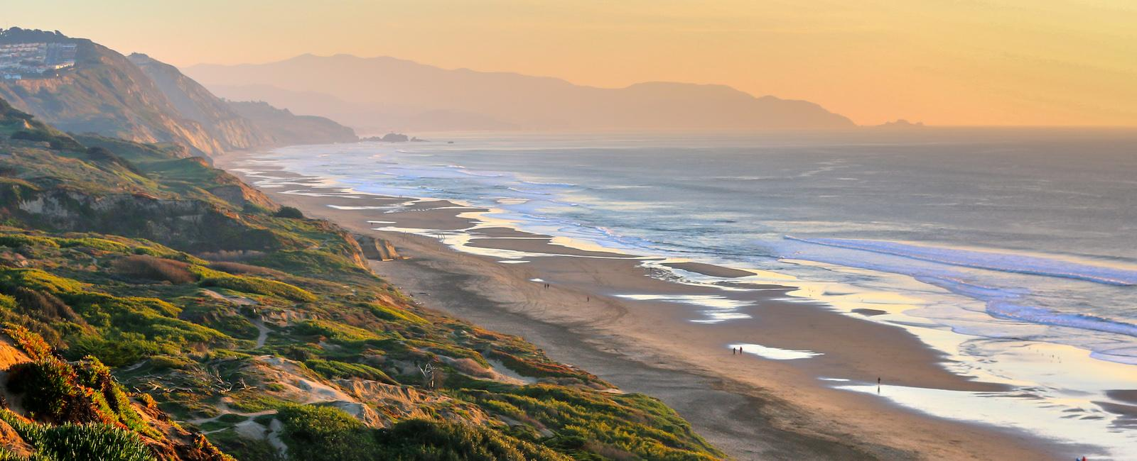 Sunset at Fort Funston