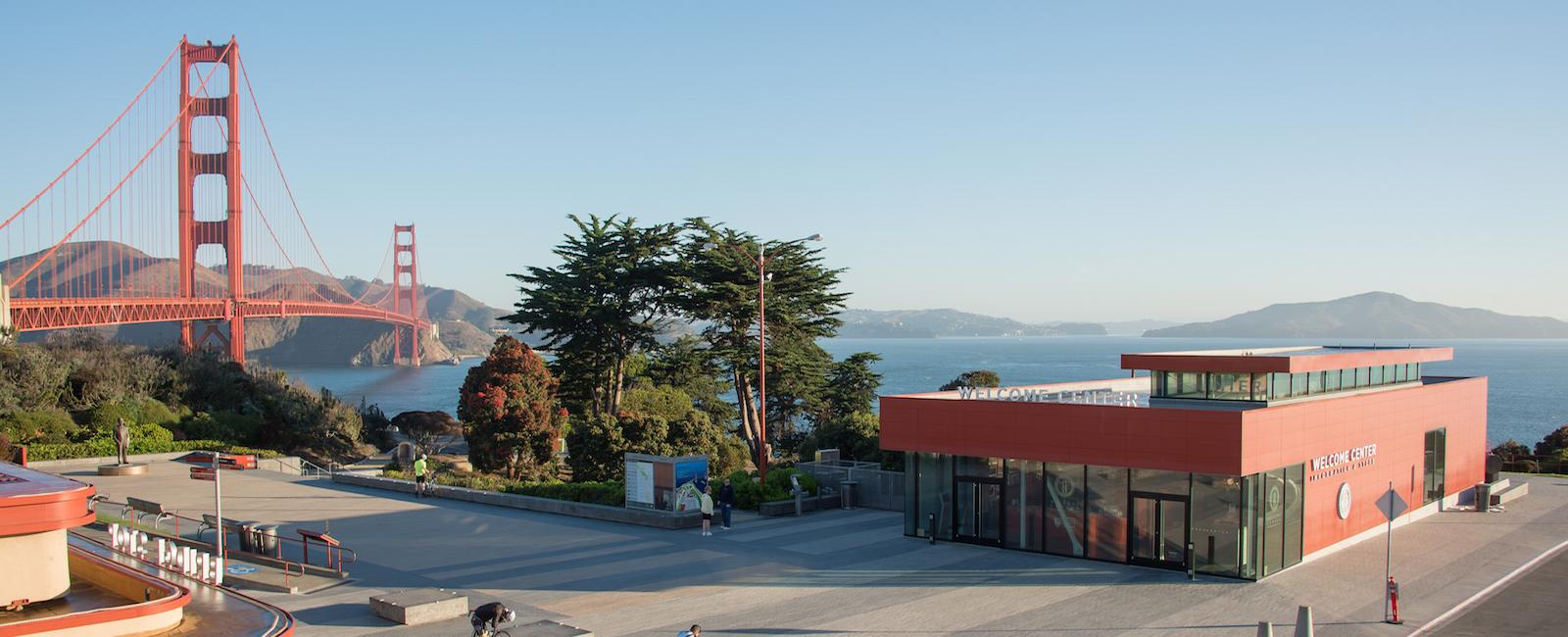 The Golden Gate Bridge Welcome Center