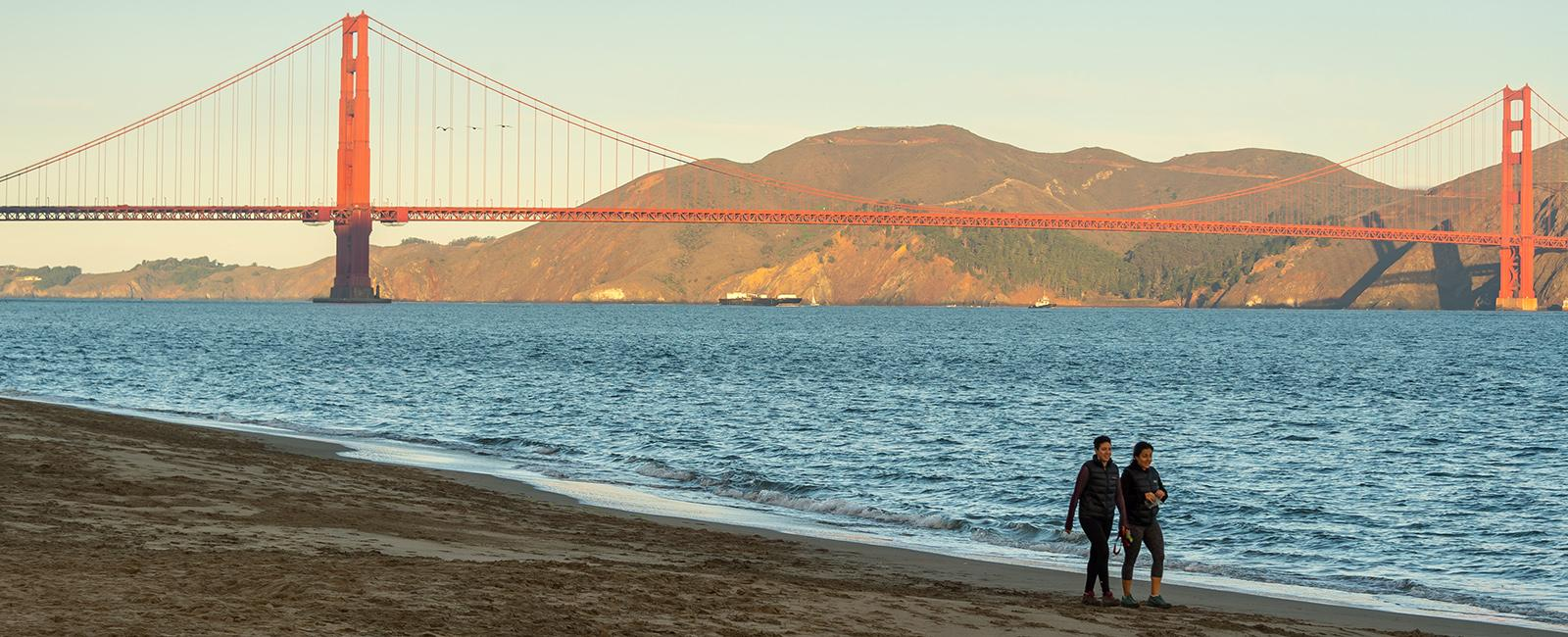 East Beach at Crissy Field