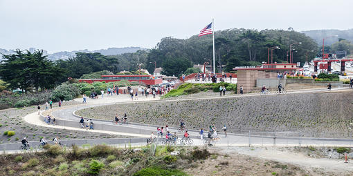 The Golden Gate Visitor Plaza