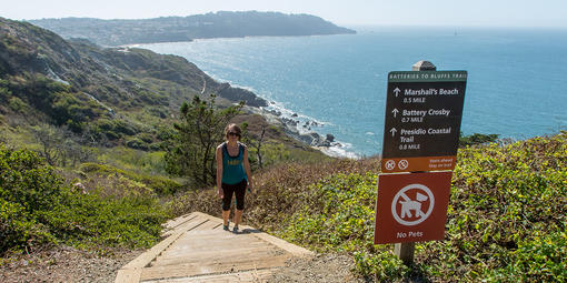 Batteries to bluffs trail