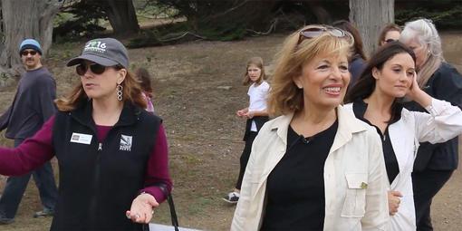 Congresswoman Jackie Speier at Mori Point