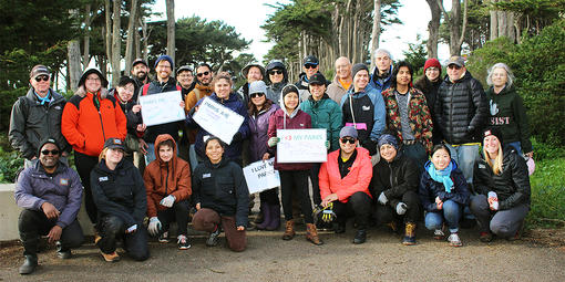 Pride in Your Parks, Park Stewardship San Francisco