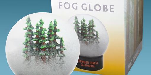 Redwood Fog Globe