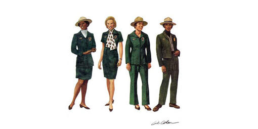 The 1974 uniform regulations brought forth the fourth uniform change for women in fourteen years.