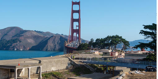 Presidio Coastal Trail Pedestrian Bridge