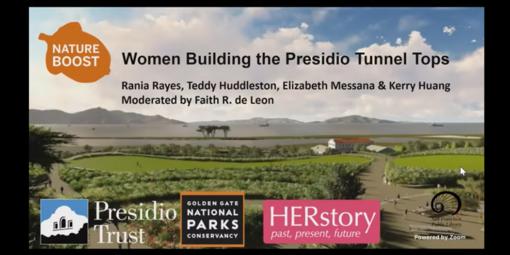 Nature Boost: Women Building the Presidio Tunnel Tops
