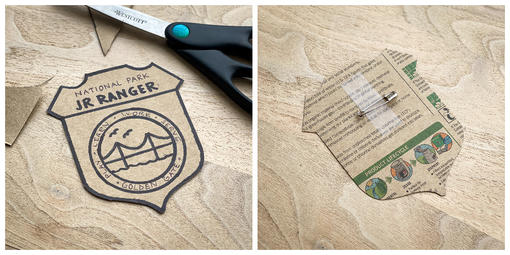 Make your own NPS ranger badge at home