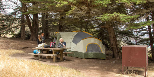 Camping at Bicentennial Camp Campground