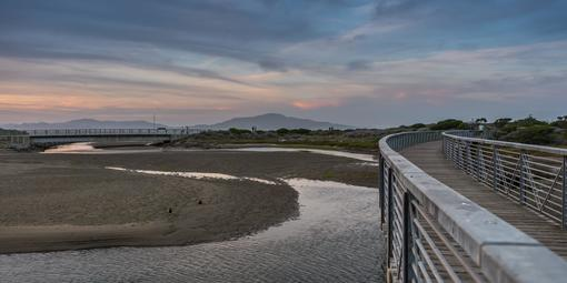 Bridge over the Crissy Field Marsh