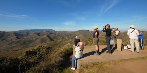 GGRO Hawkwatchers spy the skies from Hawk Hill