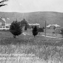 Historic image of Fort Baker during the early military years