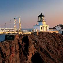 Sunset at Point Bonita Lighthouse