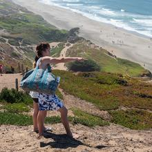 Bluffs provide great views at Fort Funston