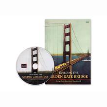 Building the Golden Gate Bridge DVD with case