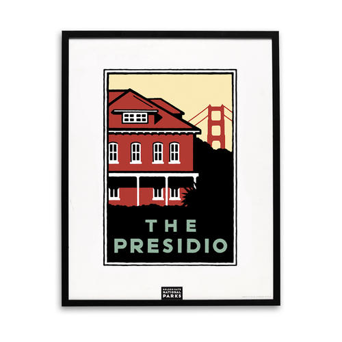 Schwab image of the Presidio Visitor Center building